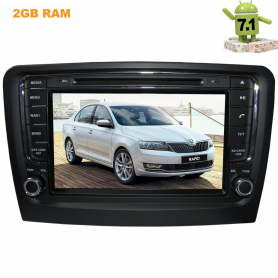 SKODA RAPID ANDROID 7.1.1 LETRUN 1923