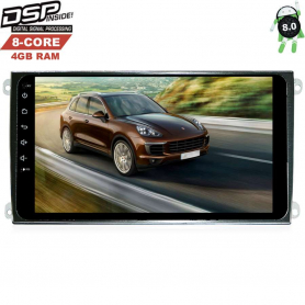 PORSCHE CAYENNE 2002-2010 LETRUN 2430 9 ДЮЙМОВ! ANDROID 8.0.1 DSP
